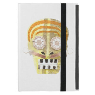 Musical Skull I-Pad Mini Case Cover For iPad Mini
