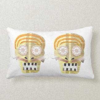 Musical Skull Lumbar Pillow