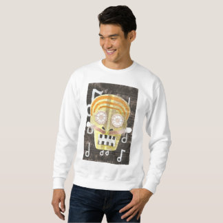 Musical Skull Men's Jumper Sweatshirt