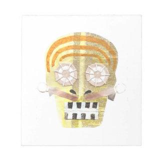 Musical Skull Notepad