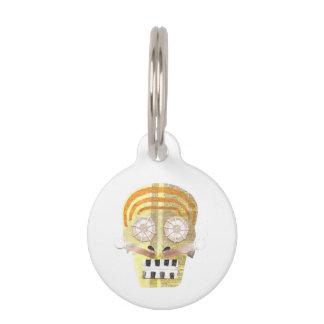 Musical Skull Pet Tag