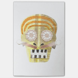 Musical Skull Post-It Notes