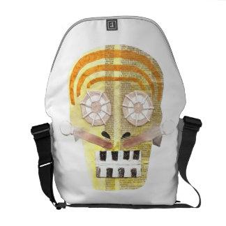 Musical Skull Rusksack Messenger Bags