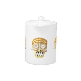 Musical Skull Teapot