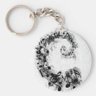 Musical Spiral Keychains