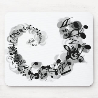 Musical Spiral Mouse Mat