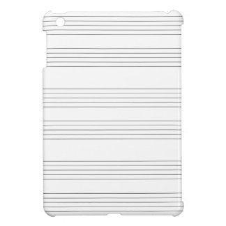 Musical Staff and Staves iPad Mini Cases