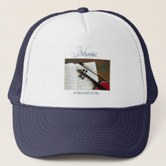 Musical Strings, The Soul of Life, Traditional Trucker Hat