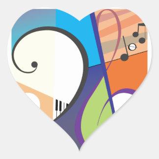Musical Symbol Design Sticker