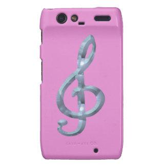 Musical Symbol Gcelf Motorola Droid RAZR Case