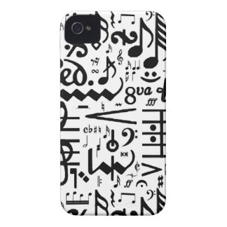 Musical Symbols Blackberry Bold Case