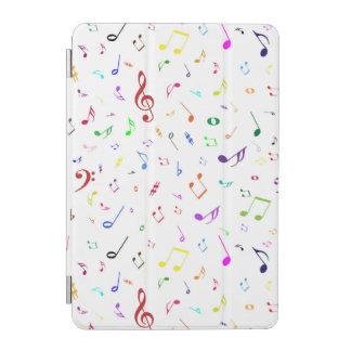 Musical Symbols in Rainbow Colors iPad Mini Cover