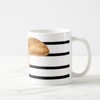 Musical tabby kitty cat coffee mugs