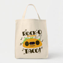 Musical Taco Tote Bag
