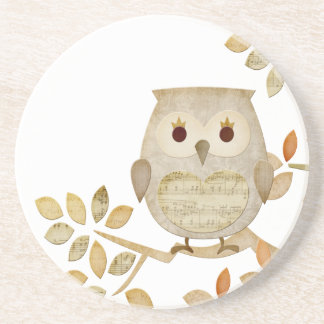 Musical Tree Owl Coaster