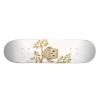 Musical Tree Owl Skateboard