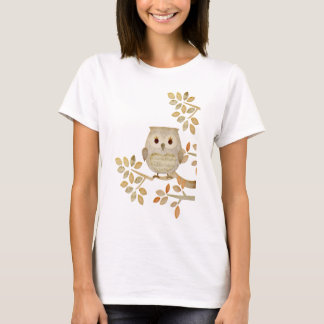 Musical Tree Owl T-Shirt