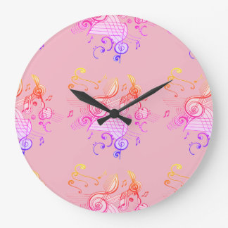 """MUSICALLY INSPIRED"" Clock"