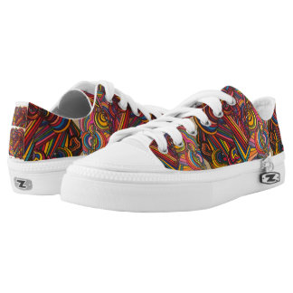 Musically inspired GROOVY sneakers! Printed Shoes