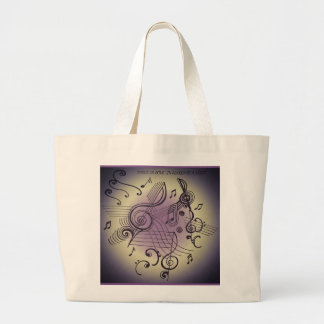 """MUSICALLY INSPIRED"" tote bag"