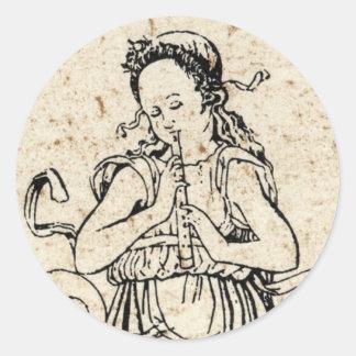 Musicha XXVI Round Sticker