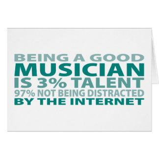 Musician 3% Talent Card