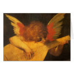 Musician Angel by Rosso Fiorentino, Vintage Art Greeting Card