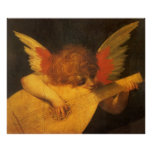 Musician Angel by Rosso Fiorentino, Vintage Art Print
