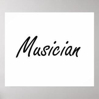 Musician Artistic Job Design Poster
