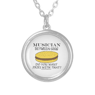 Musician Between Gigs Personalized Necklace