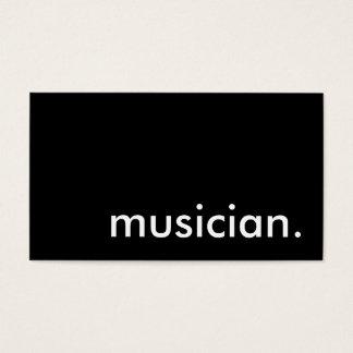 musician. business card