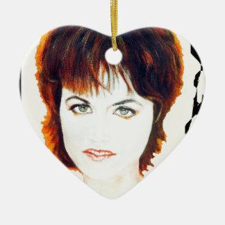 Musician Heroes Ceramic Heart Decoration