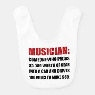 Musician Joke Bibs