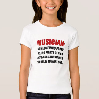 Musician Joke Tee Shirts
