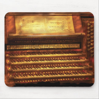 Musician - Organist - The Pipe Organ Mouse Mat