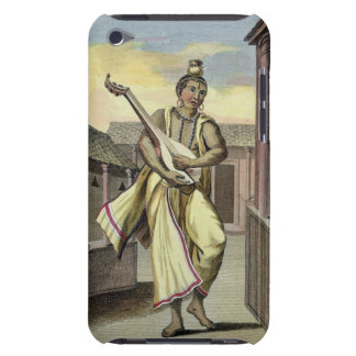 Musician with Indian Lute, from 'Voyage aux Indes iPod Touch Cases