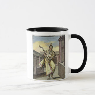Musician with Indian Lute, from 'Voyage aux Indes Mug