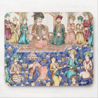 Musicians and dancers mouse mat