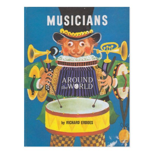 Musicians around the World Postcard