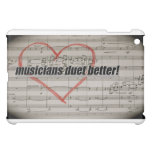 Musicians Duet iPad case