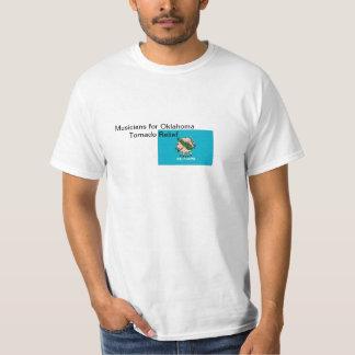 Musicians for Oklahoma Tornado Relief T-Shirt
