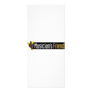 Musician's Friend Swag Rack Card Design