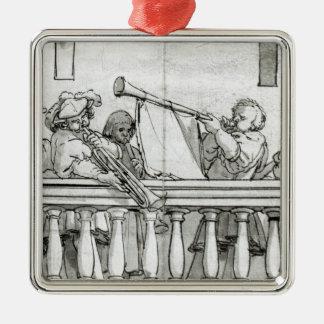 Musicians of Henry VIII Christmas Ornament