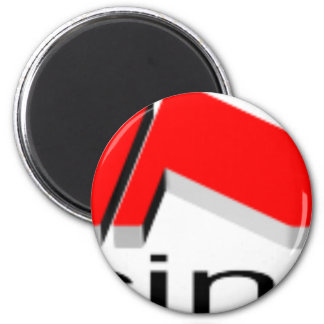MusiCinemas Branded 6 Cm Round Magnet