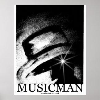 Musicman, Jazz, Blues, Any Music Poster