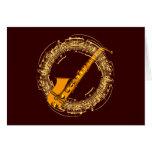 Musik Saxophon music sax saxophone Grußkarten
