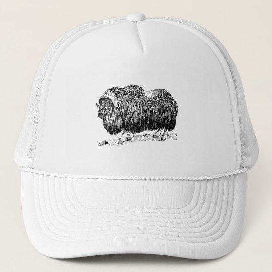 Musk Ox Trucker Hat