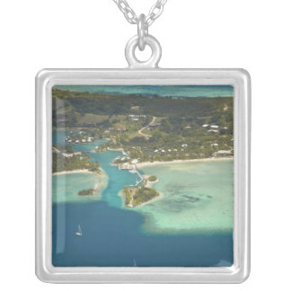 Musket Cove Island Resort, Malolo Lailai Island Silver Plated Necklace