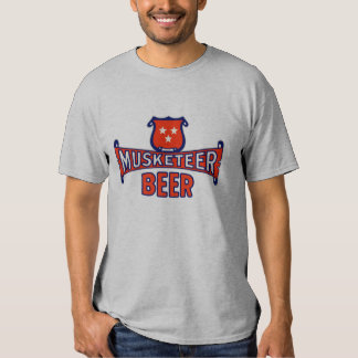 Musketeer Beer Vintage Label T-shirts
