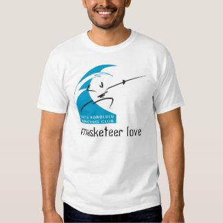 musketeer love tee shirts